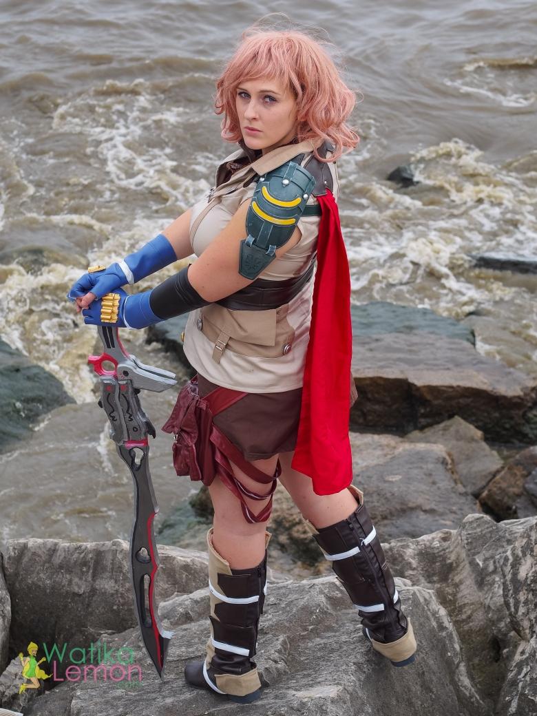 Final Fantasy Cosplay Lightning Nicole-2